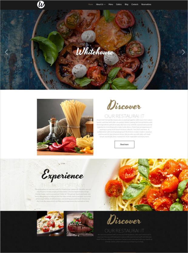 38 Best Premium Restaurant Website Templates Free