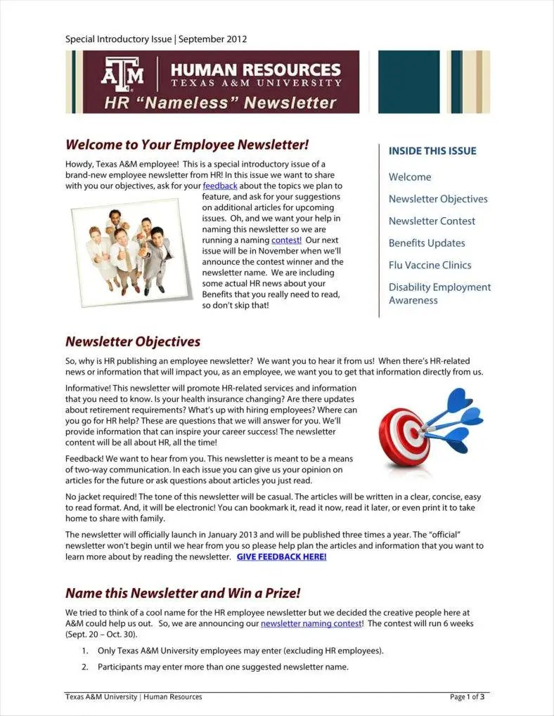 )(n.) (1) something that establishes or serves as a pattern for reference. 10 One Page Newsletter Templates Free Pdf Docs Psd Format Download Free Premium Templates