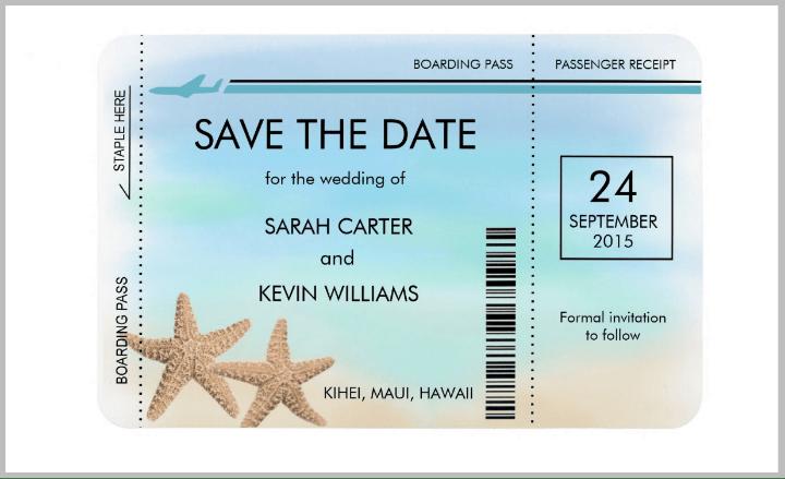 Save Date Invitation Templates