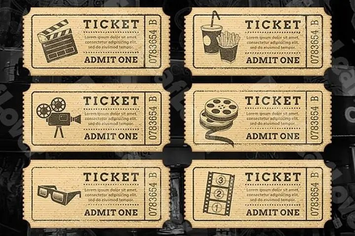 10 Award Winning Movie Ticket Templates PSD Vector EPS Word Free Amp Premium Templates