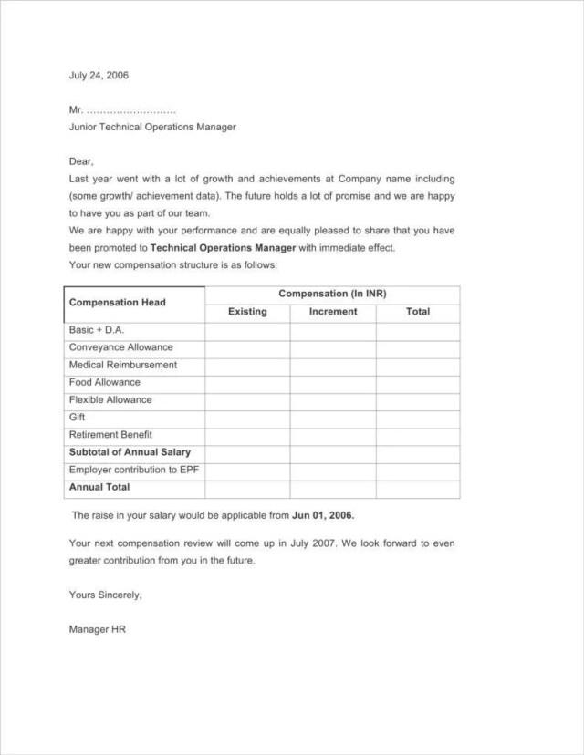 16+ Different Performance Appraisal Letters  Free & Premium Templates