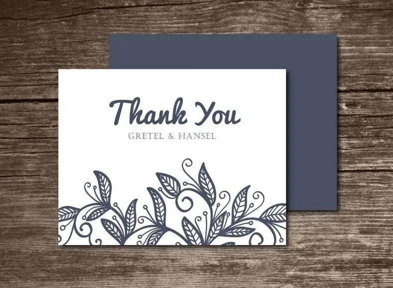 15 Thank You Note Card Designs Amp Templates PSD AI