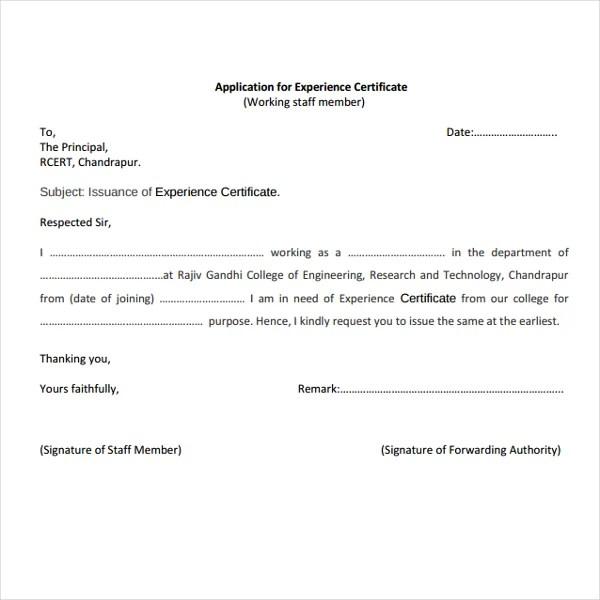 9 Job Experience Certificate Templates PDF Word AI InDesign Free Premium Templates