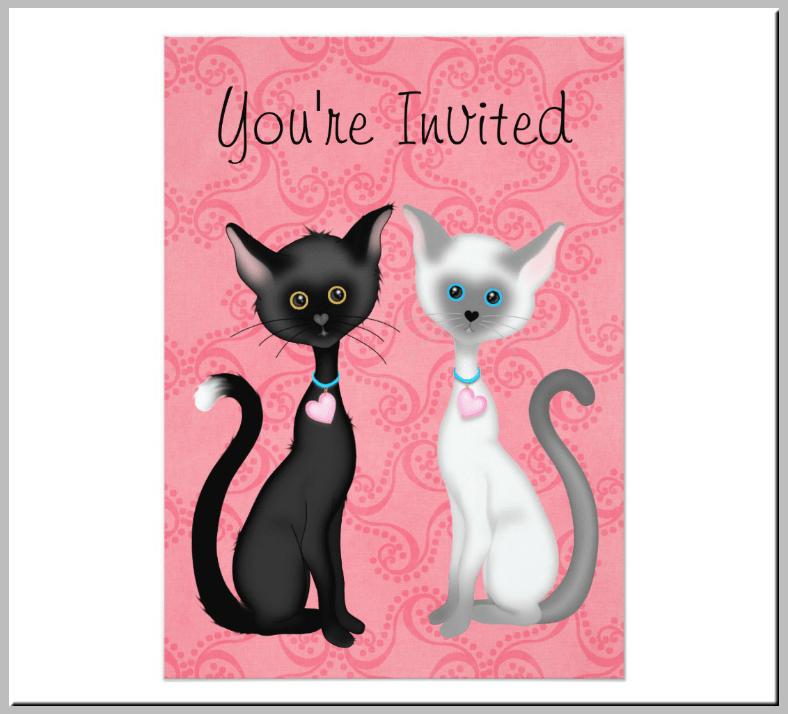 20 Kitty Themed Invitation Card Designs Amp Templates PSD AI Free Amp Premium Templates