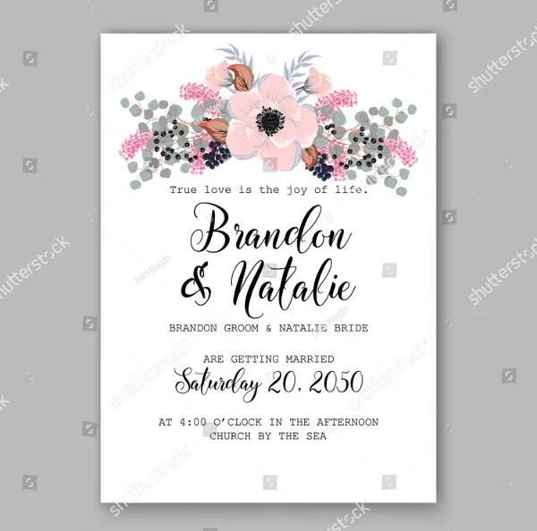 13 Rustic Bridal Shower Invitation Card Designs Amp Templates PSD AI Free Amp Premium Templates