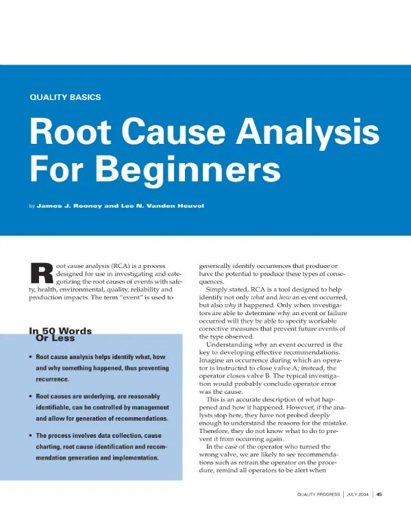 Excel   word   pdf. 8 Incident Root Cause Analysis Templates Pdf Word Apple Pages Free Premium Templates
