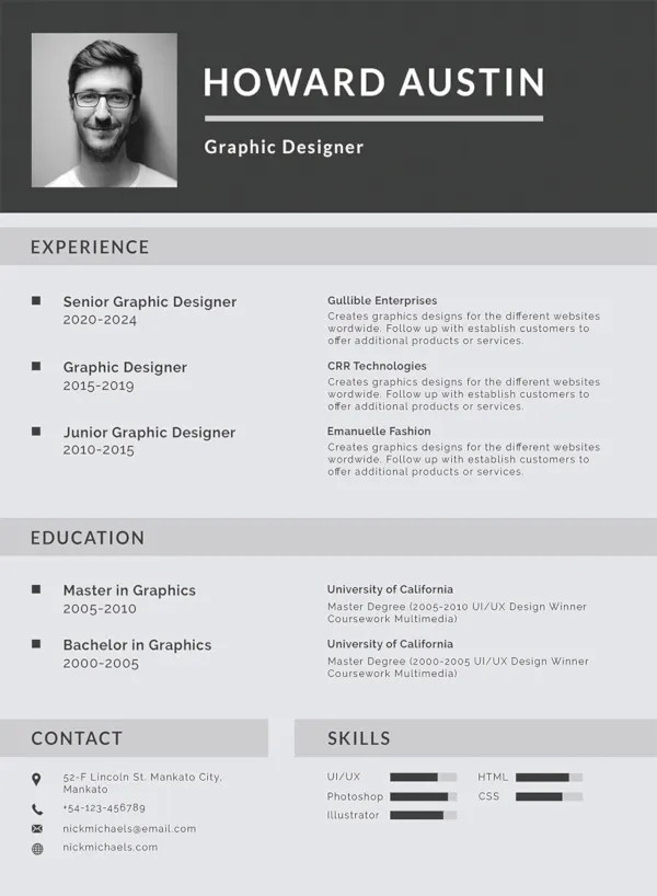 """Your resume must present your skills and qualifications in a way that best """"sells"""" 35 Sample Cv Templates Pdf Doc Free Premium Templates"""