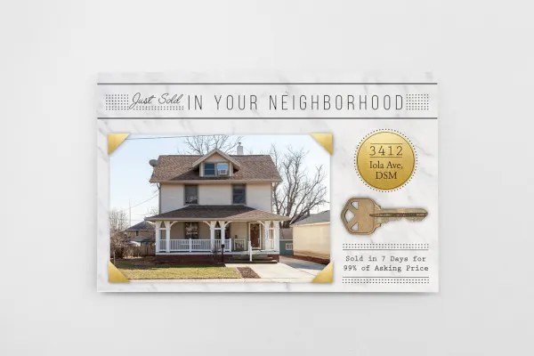 Too busy to update your property listings? 9 Just Sold Postcard Templates In Psd Free Premium Templates
