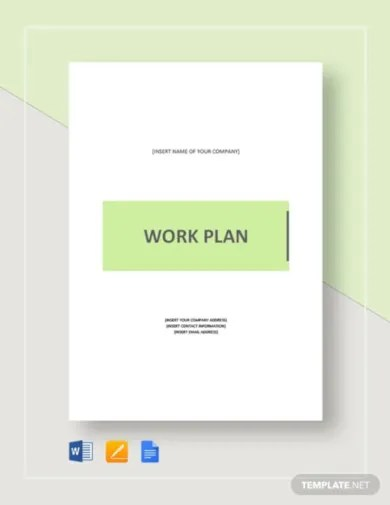 Includes a worksheet for entering data which automatically updates the roadmap. 21 Work Plan Templates In Google Docs Word Pages Pdf Free Premium Templates