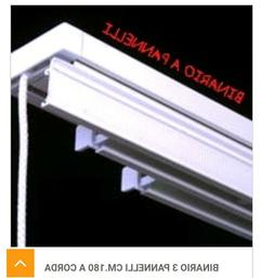 Binari per tende a pannello in vendita in arredamento e casalinghi: Binario Per Tende A Pannello Tendei