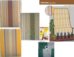 Utilizzabile con bastone • antipioggia ✓ tenda da sole con anelli 145x300cm, verde rigato ➜ tende da sole acquista ora da obi! Tende Esterno Con Anelli Tendei