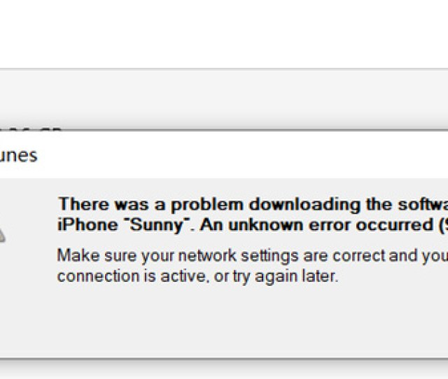 At Times Some Users Complain That They Also Meet With This Itunes Error Code 9006 Which Is Described As We Attached Above What Should Be The Reasons