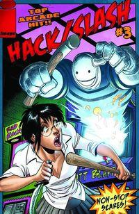 jun100461 Tim Seeley gives the inside story on HACK/SLASH