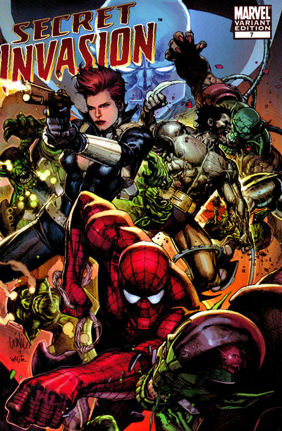 Secret Invasion #7 (Yu Variant Cover Edition)