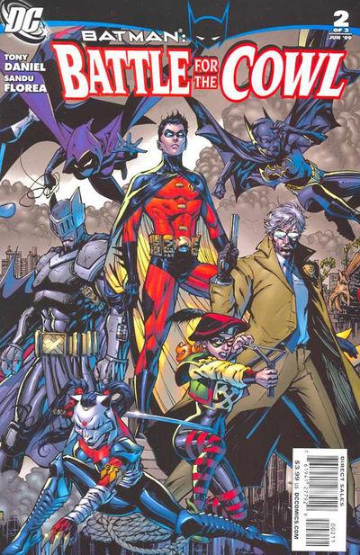 Batman: Battle for the Cowl #2 (of 3)