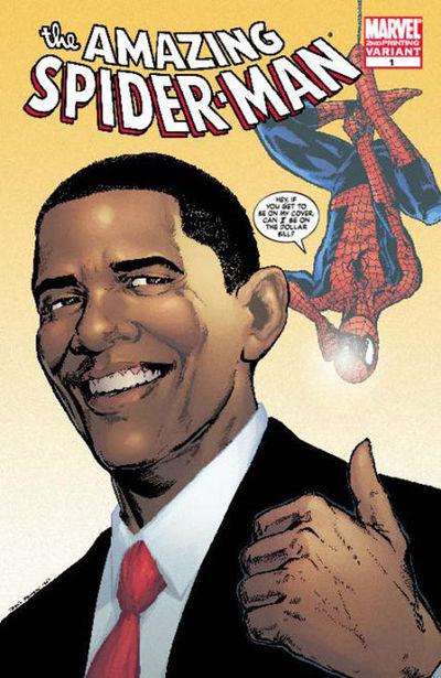 nov088096d Marvel To Issue 2nd Printing Of Obama ASM #583 Variant