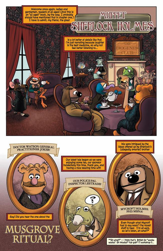 MuppetSherlock4p2 TFAW Interviews: The Muppets' Amy Mebberson