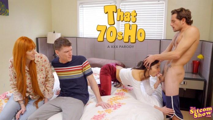 ThatSitcomShow.com - Emily Willis,Lauren Phillips: That 70s Ho The Fourth Wheel - S3:E2
