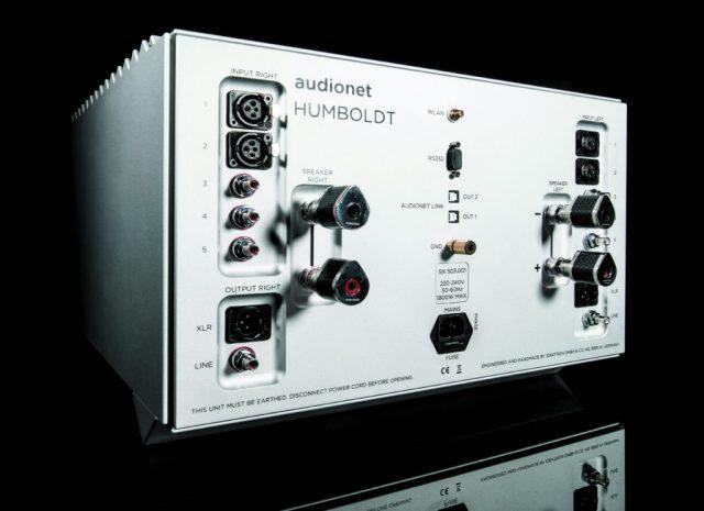 Audionet Humboldt Integrated Amplifier Rear