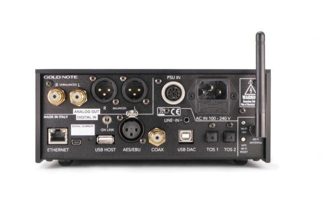 GoldNote DS-10 Plus Rear Panel