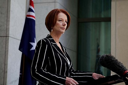 Julia Gillard ... trying to highlight  the value differences between the different parties.