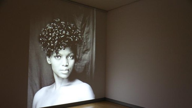 Image from South African artist Zanele Muholi's exhibition <i>Visual Activism</i>.