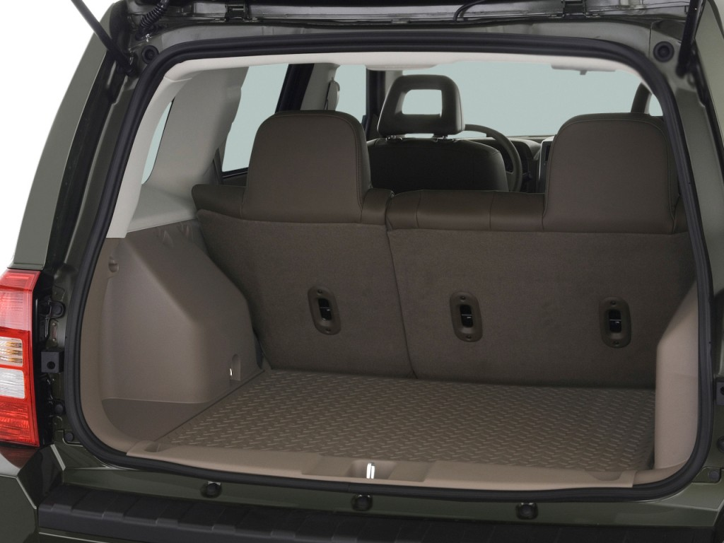 Image 2009 Jeep Patriot FWD 4 Door Limited Trunk Size