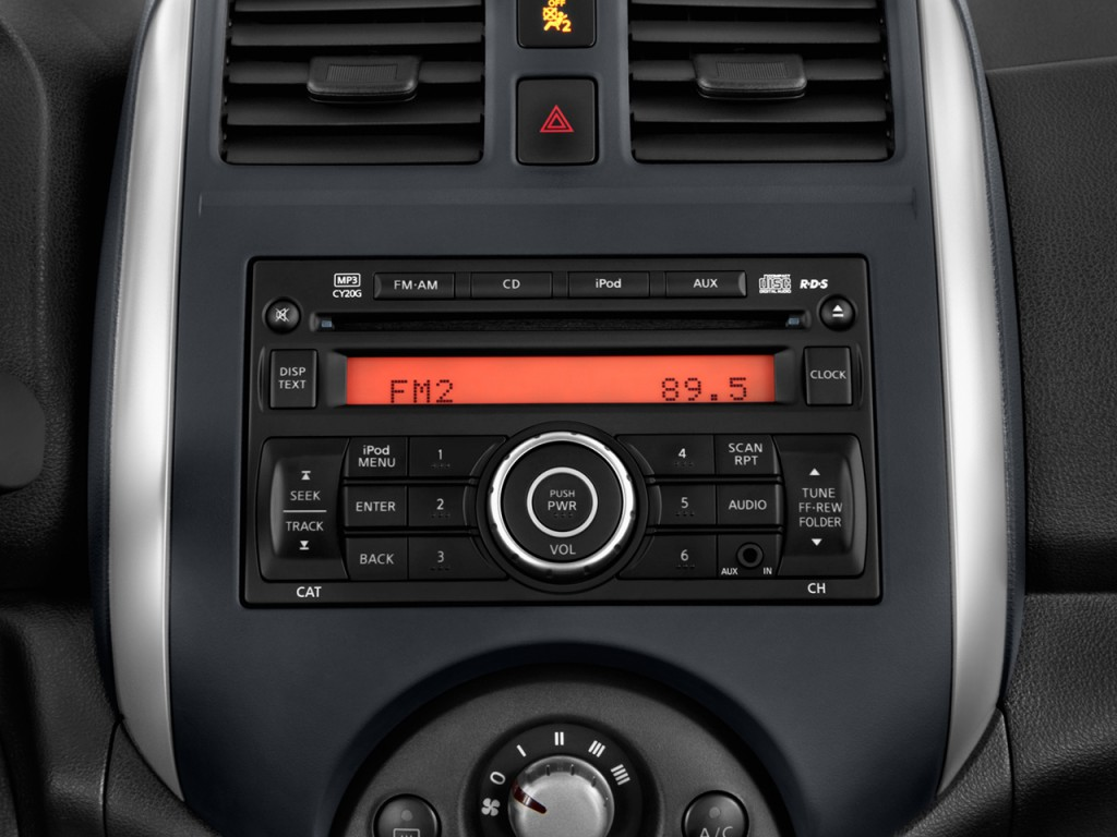Stereo 2013 Sedan Upgrade System Nissan Versa