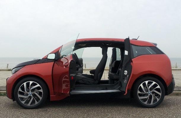 2014 BMW i3 (German-market version), Amsterdam, Oct 2013