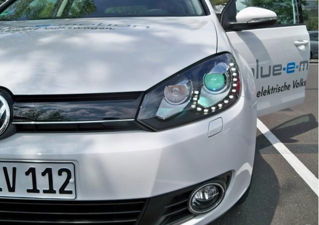 2014 Volkswagen Golf blue-e-motion prototype – Copyright High Gear Media