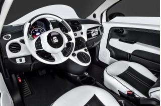 Fiat 500e 'Stormtrooper' custom electric car shown at 2015 Los Angeles Auto Show