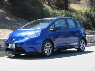 2013 Honda Fit EV drive event, Pasadena, CA, June 2012