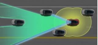 Tesla Model S Autopilot system