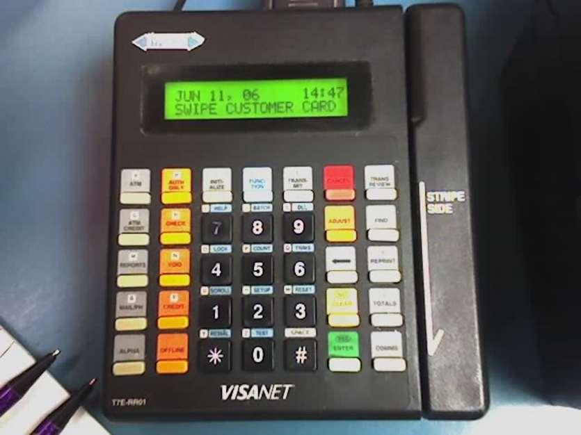 Credit card fraud machine