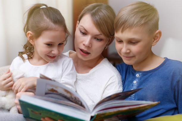 Image result for parents and daughter reading