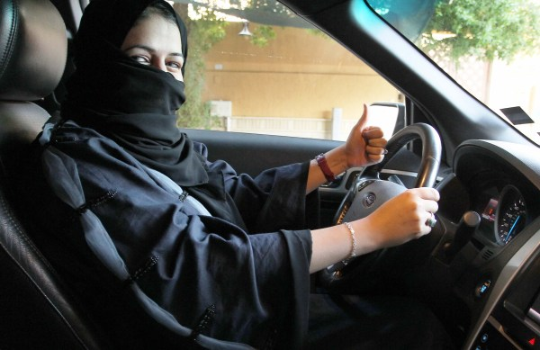 Image result for saudi passes law to drive