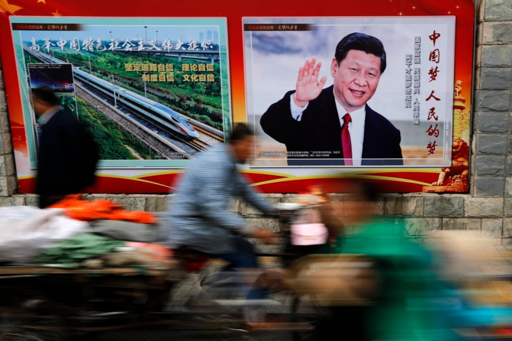 China's Xi sets his sights on the world