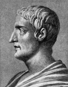 Drawing of Gaius Cornelius Tacitus