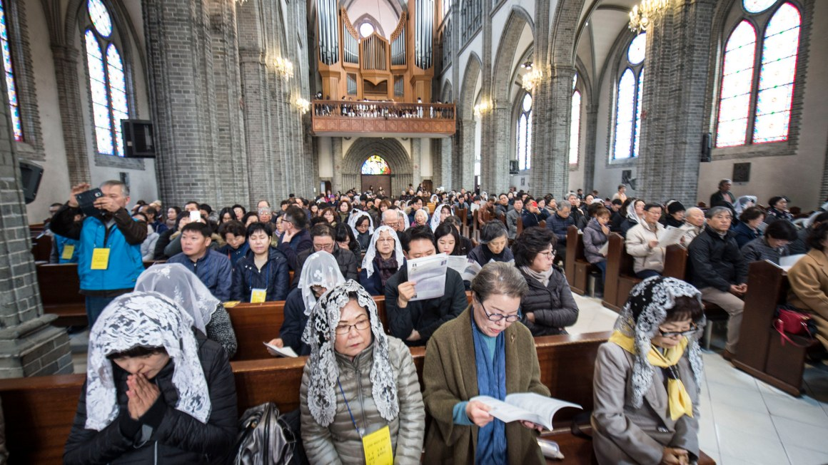 For many South Korean Christians, who support reunification, anything is possible with faith. Photo credit: Alan Mittelstaedt, CC BY