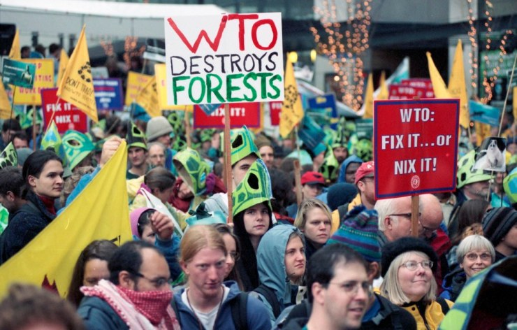 Return of Mass Movements to Streets around the World
