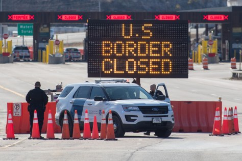 Shuttered Canada-US border highlights different approaches to the ...