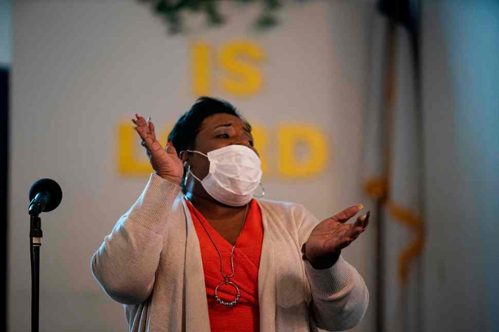 Churchgoers aren't able to lift every voice and sing during the pandemic –  here's why that matters