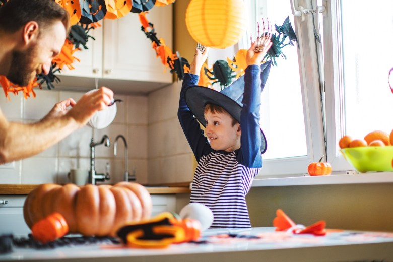Rather than going out, you may want to stay at home this Halloween.