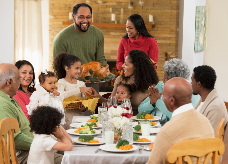 A traditional Thanksgiving this year may not be a good idea.