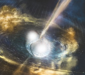 A tiny crystal device could accelerate gravitational wave detectors to detect the nascent cries of black holes