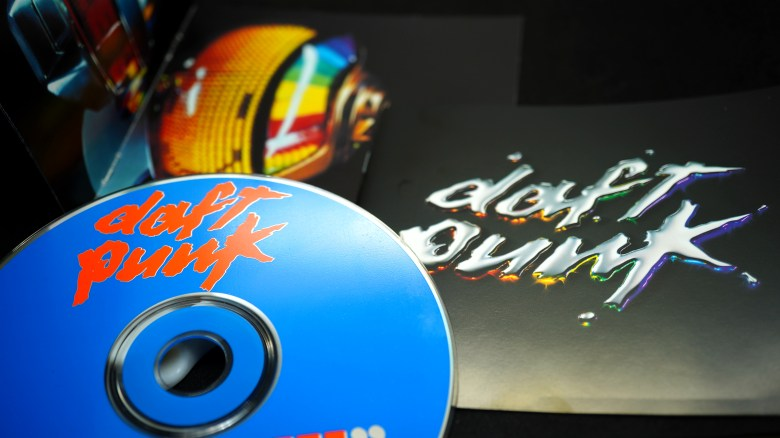 Covers of CDs by Daft Punk