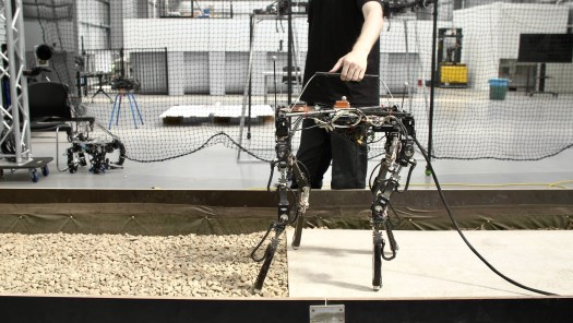 This shape-shifting robot adjusts its body to walk across all kinds of terrain 2