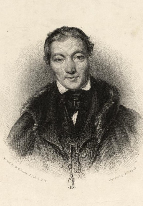 Portrait of a wealthy, well-dressed man with well-coifed hair in the 19th century