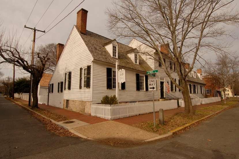 Outside of Mary Washington's house