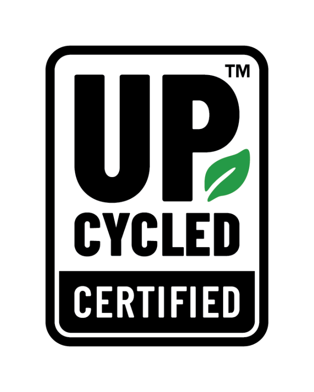 Upcycled certification logo